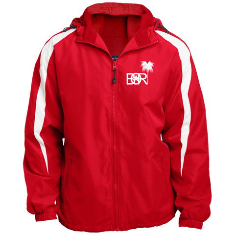 Bori JST81 Sport-Tek Fleece Lined Colorblocked Hooded Jacket