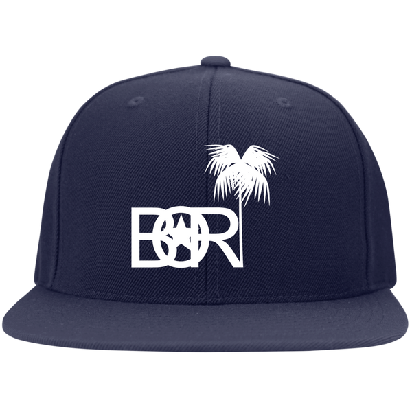 Bori STC19 Sport-Tek Flat Bill High-Profile Snapback Hat