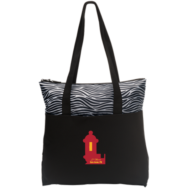 El Morro Zip Top Tote - PR FLAGS UP