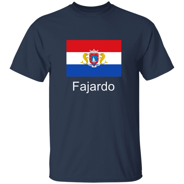 Fajardo Flag WL G500B Youth 5.3 oz 100% Cotton T-Shirt