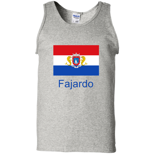 Fajardo Flag G220 100% Cotton Tank Top