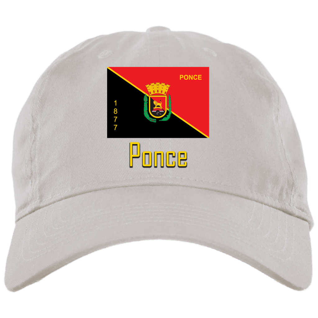 Ponce BX001 Brushed Twill Unstructured Dad Cap