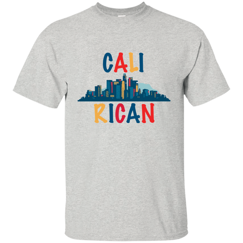 Cali Rican G200 Gildan Ultra Cotton T-Shirt - PR FLAGS UP