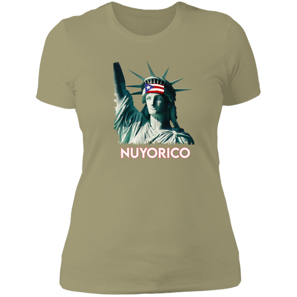 NuyoRico NL3900 Ladies' Boyfriend T-Shirt