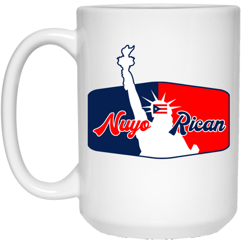 NuyoRican La Bruja Collection 21504 15 oz. White Mug