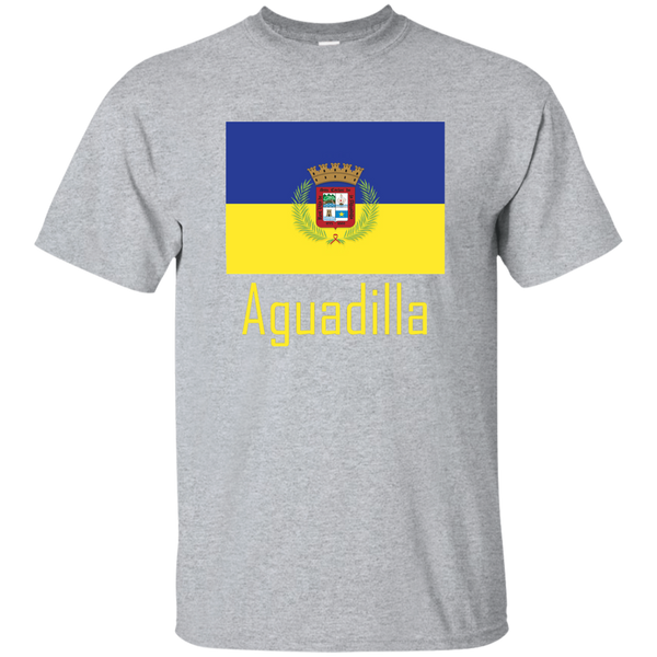 Aguadilla Flag G200 Gildan Ultra Cotton T-Shirt - PR FLAGS UP
