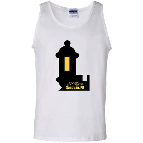 El Morro 2 100% Cotton Tank Top - PR FLAGS UP