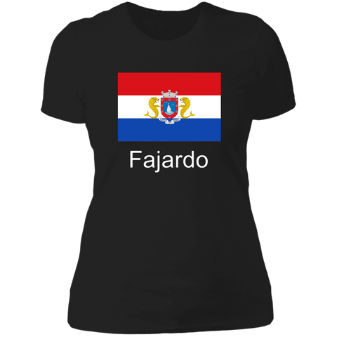 Fajardo Flag WL NL3900 Ladies' Boyfriend T-Shirt