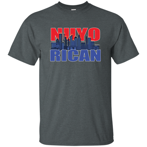 NuyoRican 2 Custom Ultra Cotton T-Shirt - PR FLAGS UP