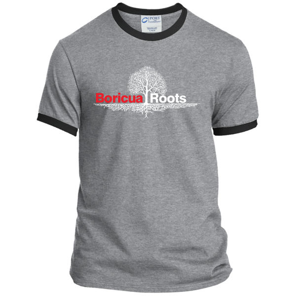 Roots Personalized Ringer Tee - PR FLAGS UP