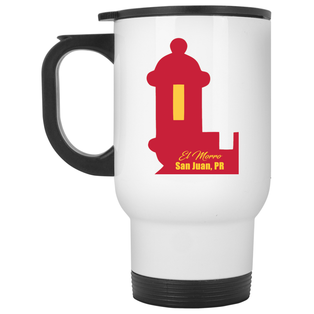 El Morro Travel Mug - PR FLAGS UP
