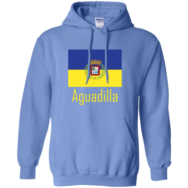 Aguadilla Flag G185 Gildan Pullover Hoodie 8 oz. - PR FLAGS UP