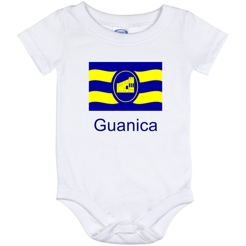 Guanica Flag IO12M Baby Onesie 12 Month