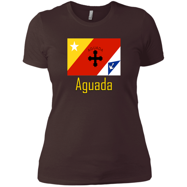 Aguada Flag NL3900 Next Level Ladies' Boyfriend T-Shirt - PR FLAGS UP