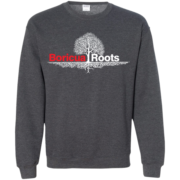 Roots Printed Crewneck Pullover Sweatshirt  8 oz - PR FLAGS UP