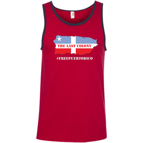The Last Colony 100% Ringspun Cotton Tank Top - PR FLAGS UP
