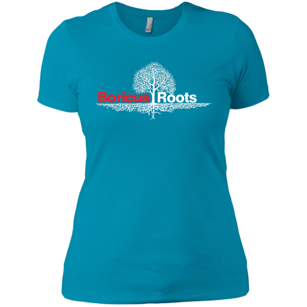 Roots Next Level Ladies' Boyfriend Tee - PR FLAGS UP