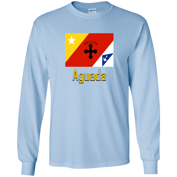 Aguada Flag G240 Gildan LS Ultra Cotton T-Shirt - PR FLAGS UP