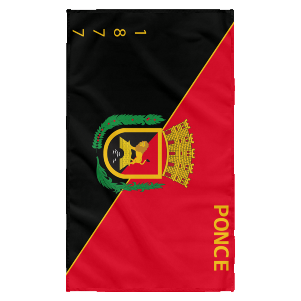 Ponce SUBWF Sublimated Wall Flag
