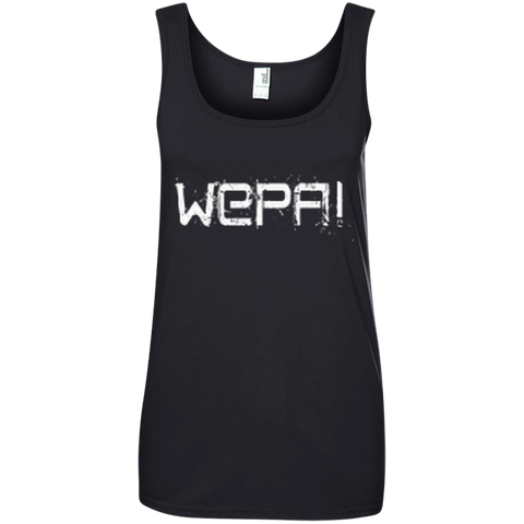 Wepa Ladies' 100% Ringspun Cotton Tank Top - PR FLAGS UP