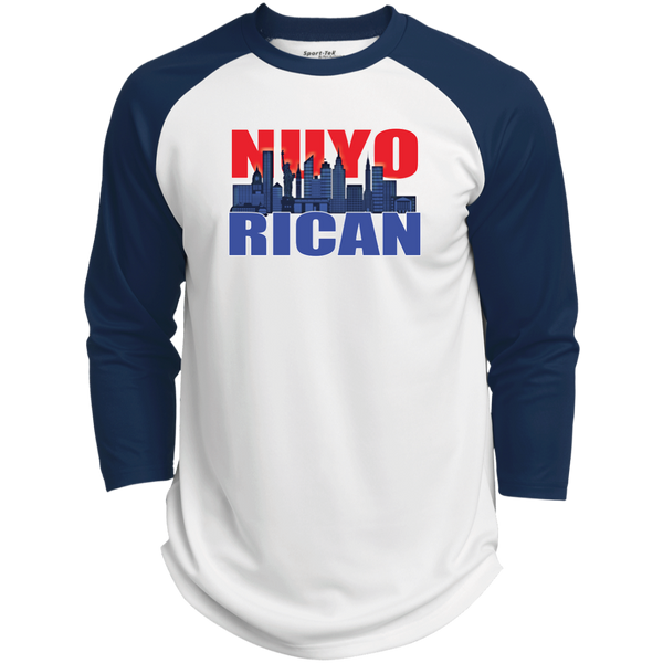 NuyoRican 2 Polyester Game Baseball Jersey - PR FLAGS UP