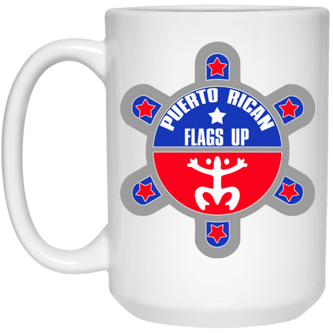 PR Flags Up Mug - 15oz