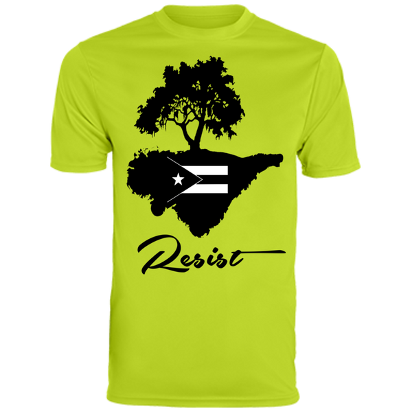Resist 790 Augusta Men's Wicking T-Shirt - PR FLAGS UP