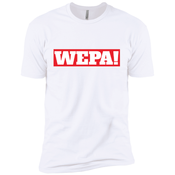 Wepa NL3600 Next Level Premium Short Sleeve T-Shirt - PR FLAGS UP