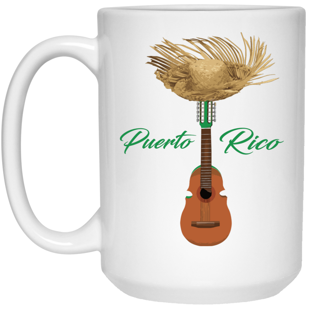 Cuatro Mug - 15oz - PR FLAGS UP