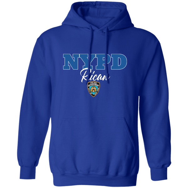 NYPD Rican G185 Gildan Pullover Hoodie 8 oz.