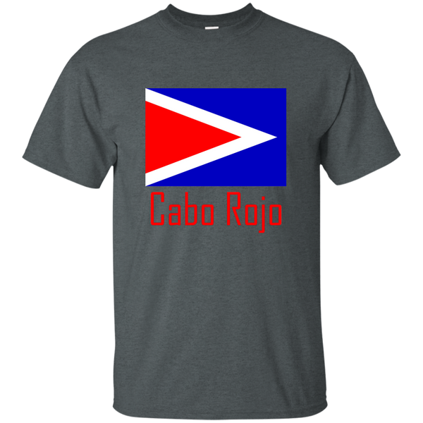 Cabo Rojo Flag G200 Gildan Ultra Cotton T-Shirt - PR FLAGS UP
