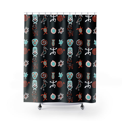 Taino Boriken Shower Curtains