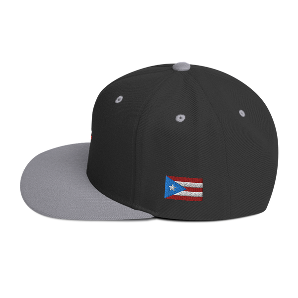 My BloodType is Boricua Snapback Hat