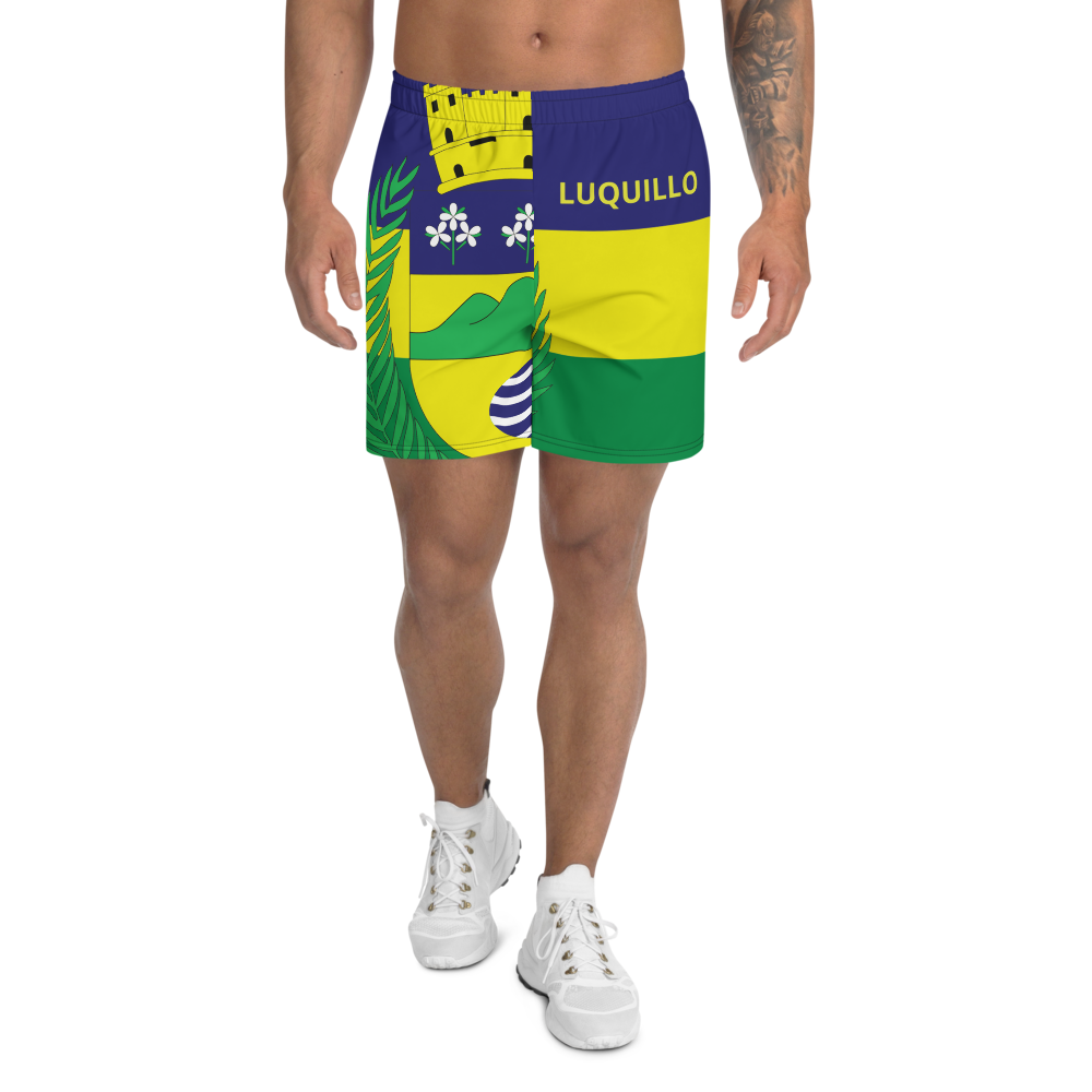 Luquillo Men's Athletic Long Shorts