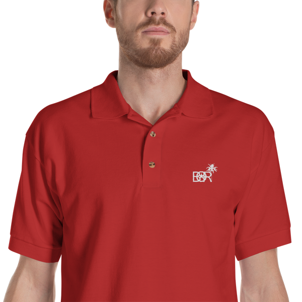 Bori Embroidered Polo Shirt - PR FLAGS UP