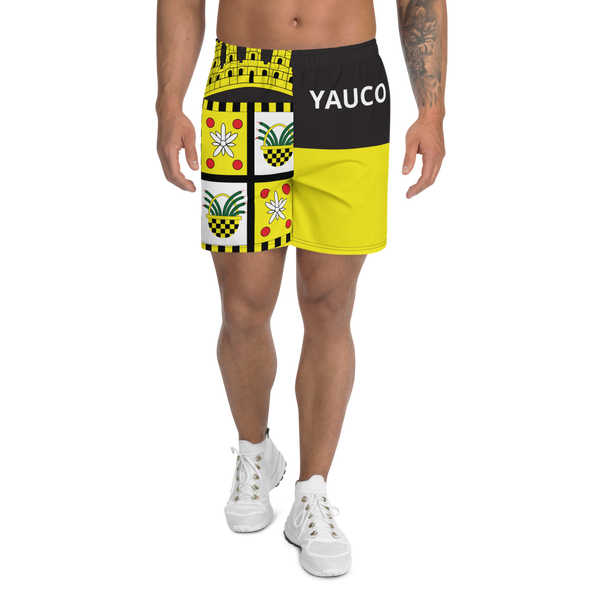 Yauco Men's Athletic Long Shorts