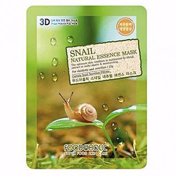 Foodaholic 3D Snail Natural Essence Mask