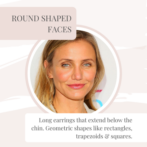 Round shape face example