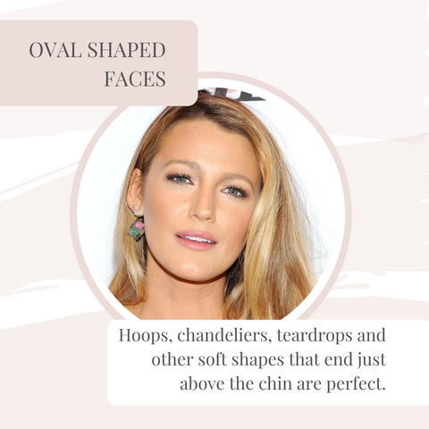 Oval face example
