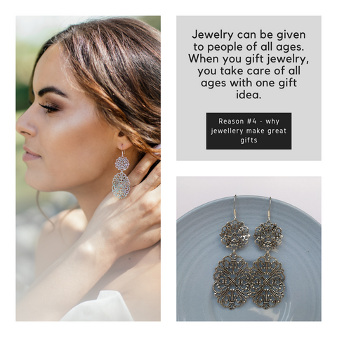Reason 4 why jewelry makes great gifts