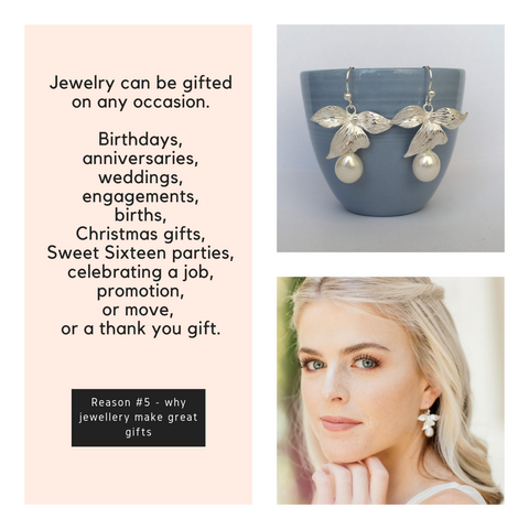 Reason 5 why jewelry make great gifts