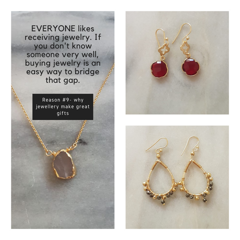 Reason 9 why jewelry make great gifts