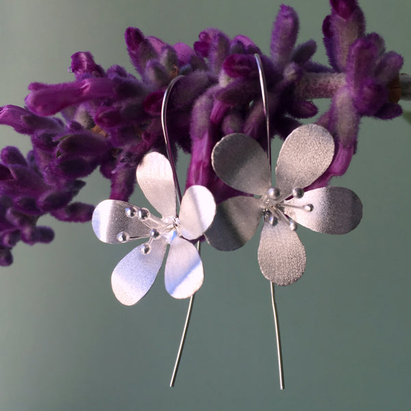 Sterling Silver Oriental Lillies