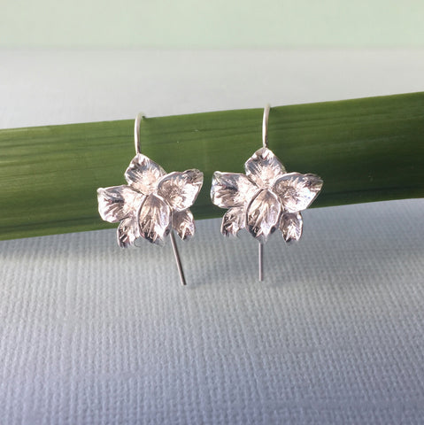 Sterling Silver Orchids