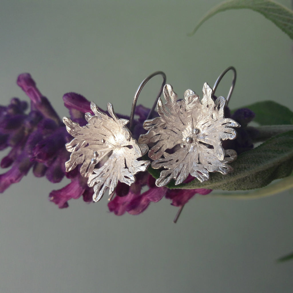 Sterling Silver Gloriosa Earrings