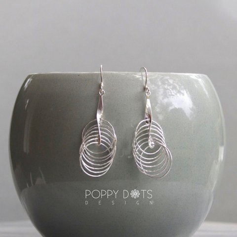Sterling Silver Tina Earrings