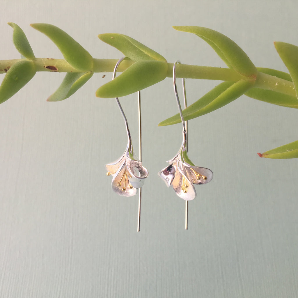 Sterling Silver & Gold Amaryllis