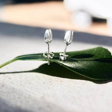 Sterling Silver Spring Bud Studs