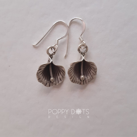 Sterling Silver Shell Lily