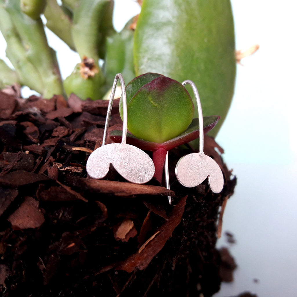 Sterling Silver New Life Earrings